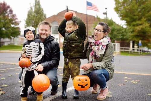 Explore the Halloween Scene in These NYC Suburbs