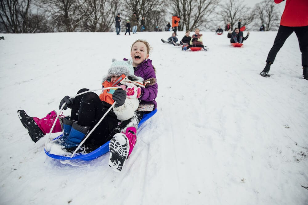Explore the Chicago Suburbs by Sled (or Skis or Skates…)